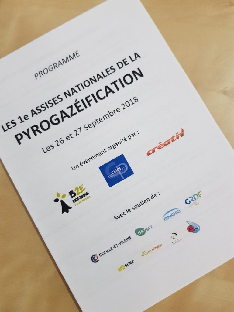 assises de la pyrogazéification