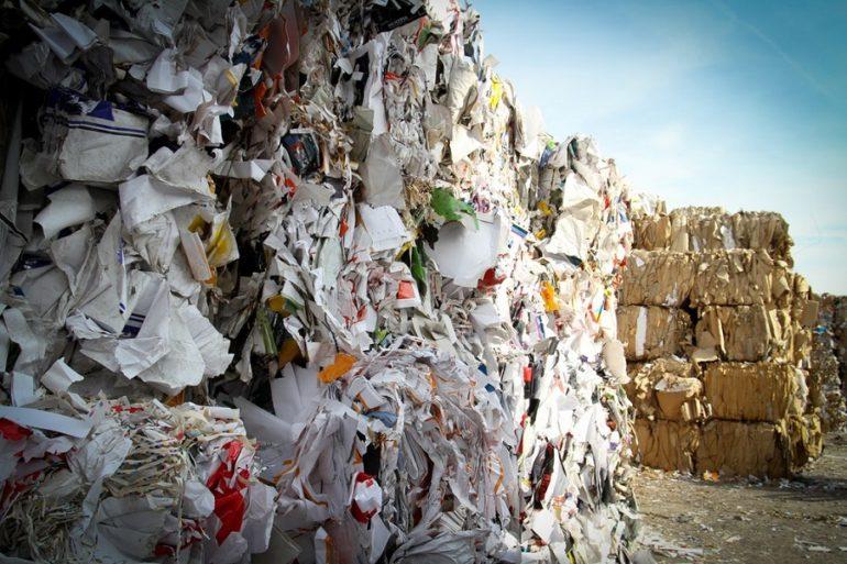 Bloc de déchets
