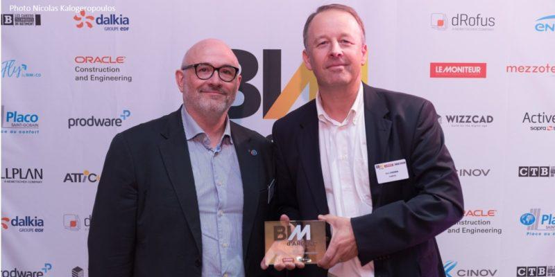 Entreprise BIMEO lauréate du BIM D'Argent