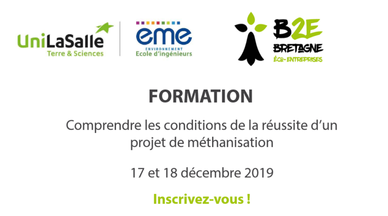 Formation B2E méthanisation_2019