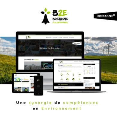Mockup site web B2E