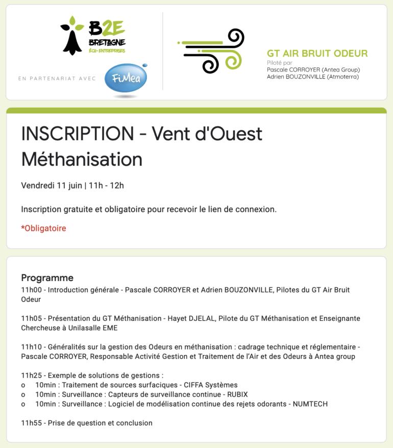GT Air Bruit Odeur du 11 juin 2021