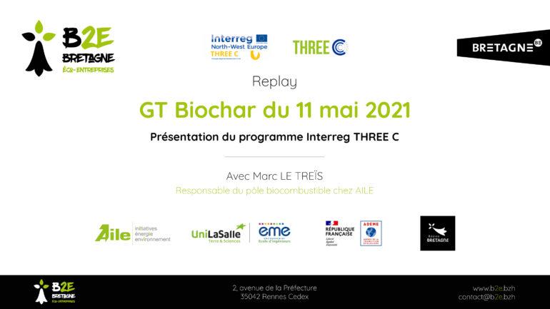 Replay GT Biochar du 11 mai 2021 B2E