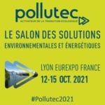 Affiche salon Pollutec Lyon 2021